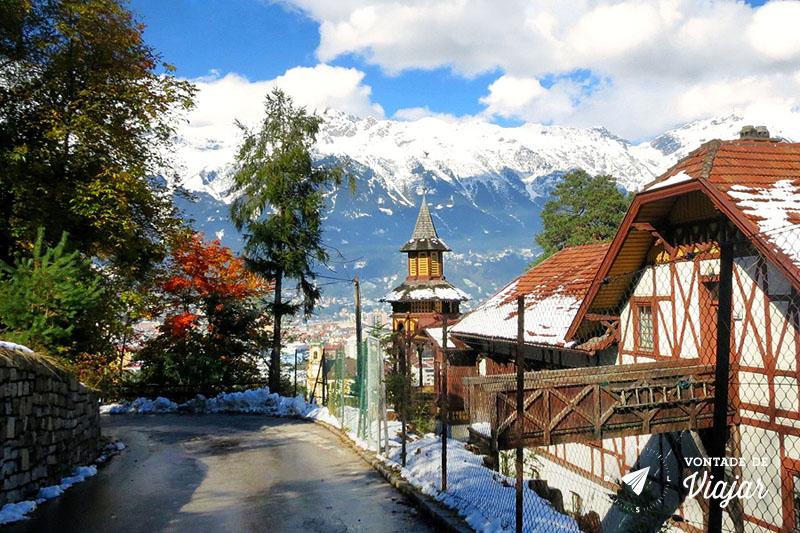 Innsbruck, nos alpes da Áustria - Foto Kely Martins