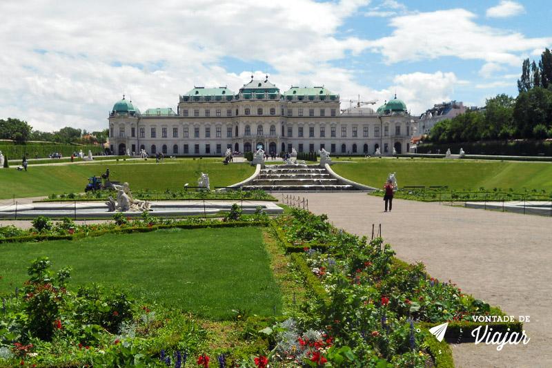 Cidades da Austria - Viena Palacio Belvedere