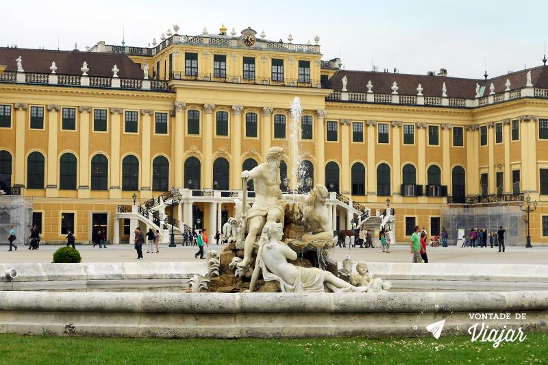 Cidades da Austria - Viena Palácio Schonbrunn
