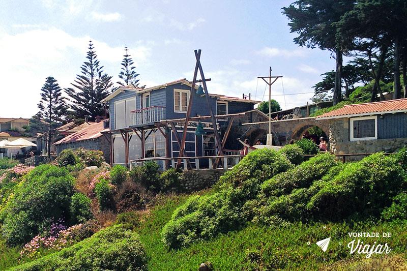 Casa de Pablo Neruda em Isla Negra, no Chile