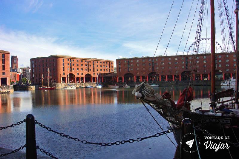 Albert Dock, em Liverpool: um marco na história da Inglaterra