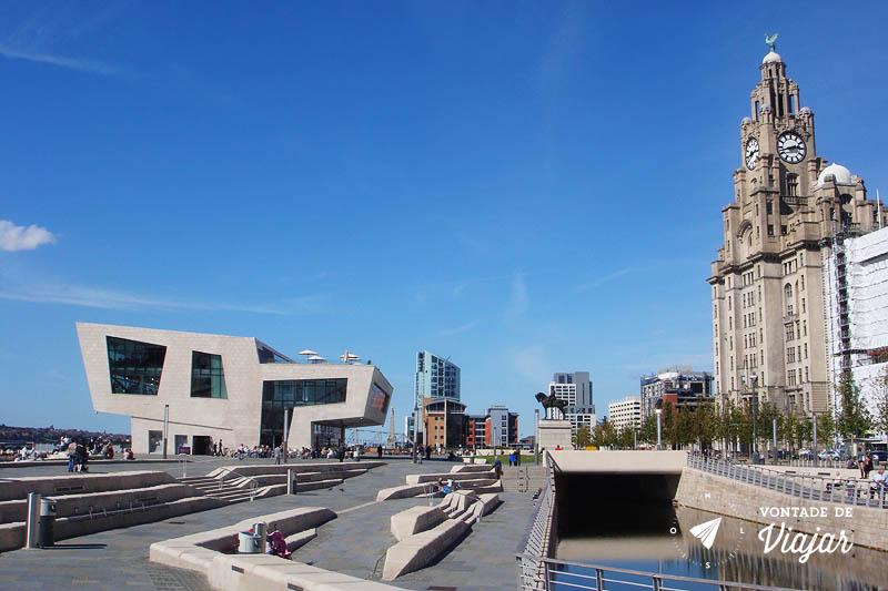 Liverpool Waterfront arquitetura