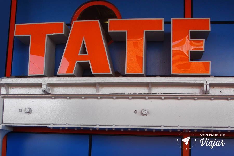 Tate Liverpool no Albert Dock - museu de arte moderna