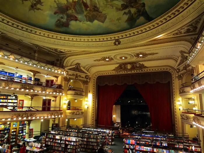 Buenos Aires - Livraria El Ateneo - foto blog Vontade de Viajar