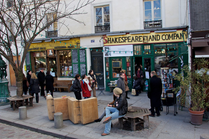 Livraria Shakespeare and Company Paris - Foto Mike Peel