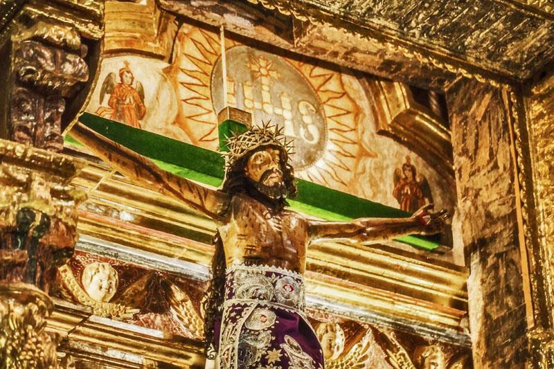 Igreja Andahuaylillas Peru - Foto Sergio Zeiger Rota do Barroco Andino