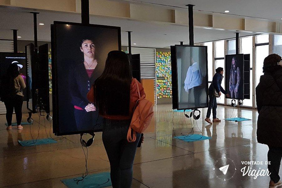 O que fazer em Lima Peru - Lugar de la Memoria instalacoes interativas no museu