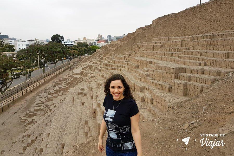 O que fazer em Miraflores Lima Peru - Sitio arqueologico Huacca Pucllana