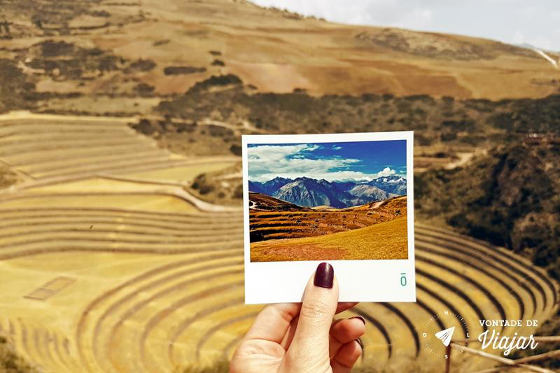 Foto Phosfato - Sitio Arqueologico Moray, laboratório de agricultura inca