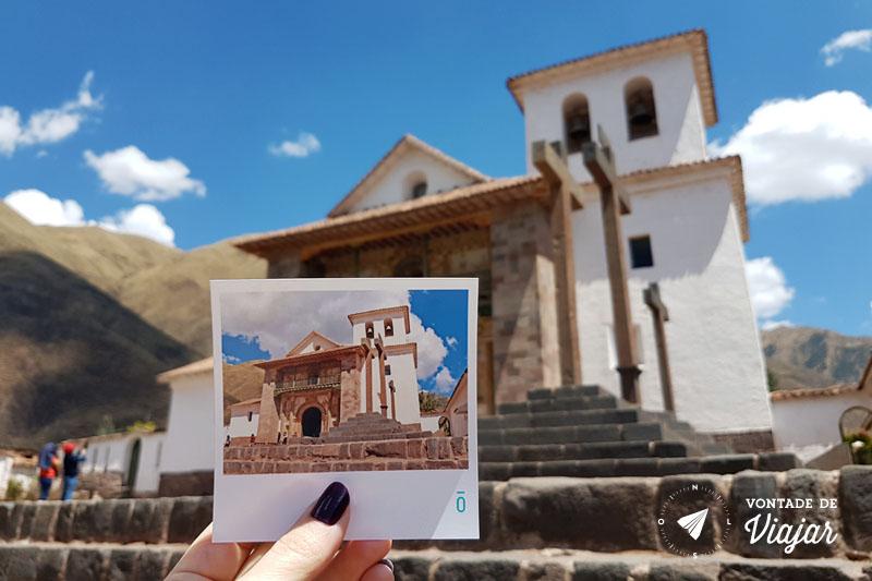 Foto Phosfato - Igreja San Pedro Andahuaylillas no Vale Sul de Cusco Peru