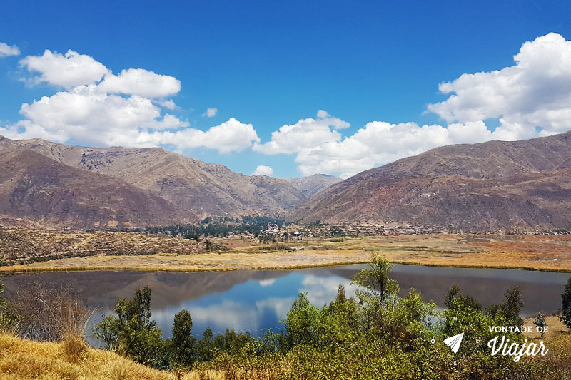 Tour pelo Vale Sul de Cusco Peru - Laguna Huacarpay