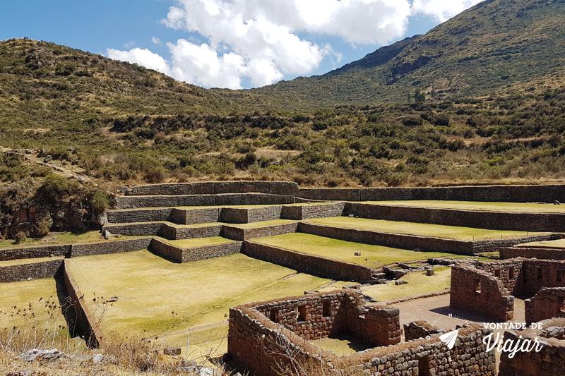 Vale Sul de Cusco Peru - Sitio arqueologico de Tipon