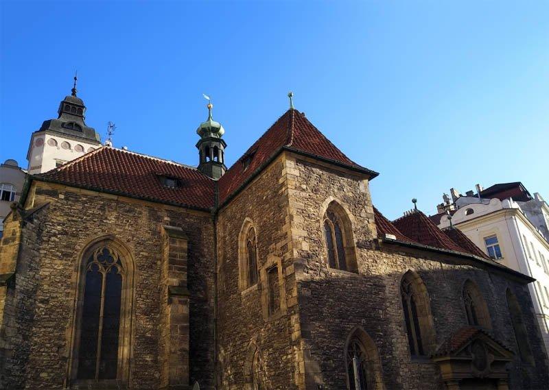Lendas de Praga - Igreja de Sao Martinho na Parede - Foto Jiri Neubauer