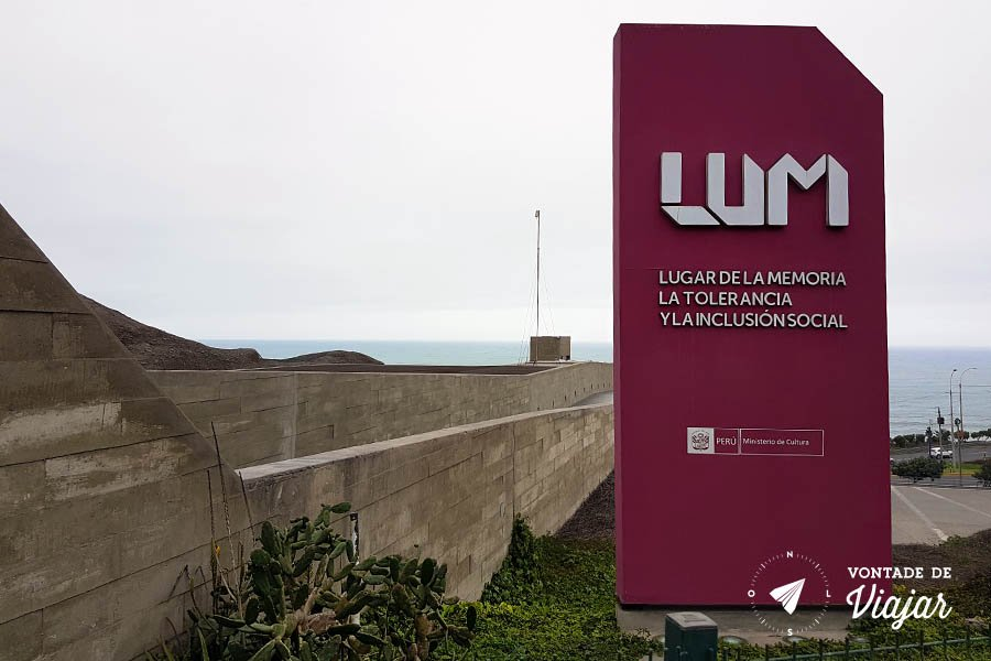 Lugar de la Memoria Lima Peru - Arquitetura na encosta de Miraflores