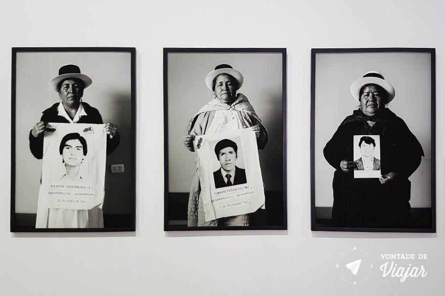 Lugar de la Memoria Lima Peru - Desaparecidos dos conflitos