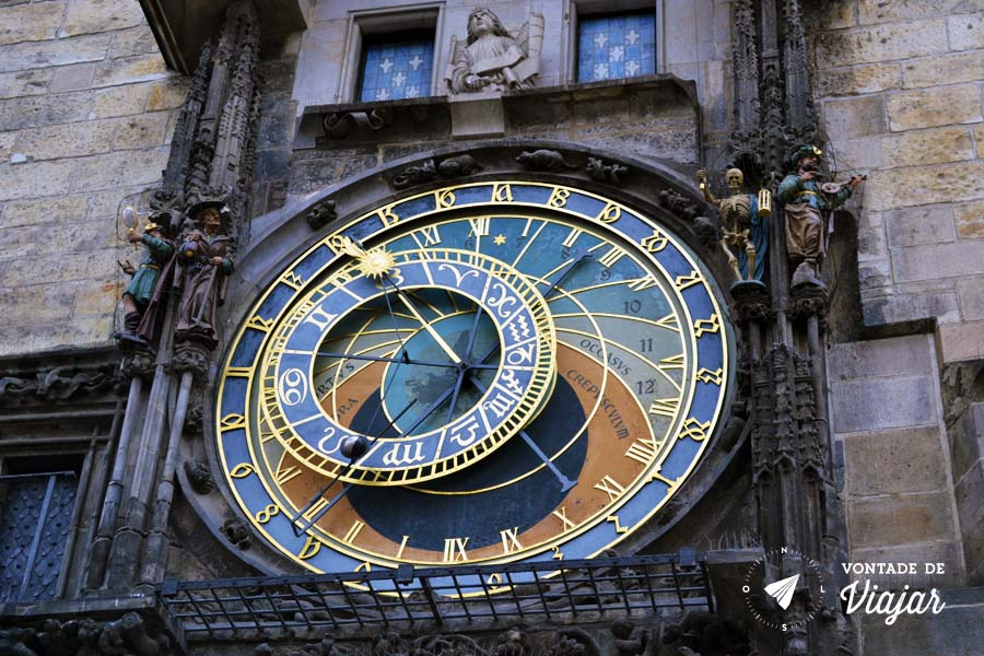 Relogio Astronomico de Praga - Republica Tcheca