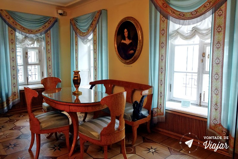 Literatura russa - Casa de Pushkin em Moscou