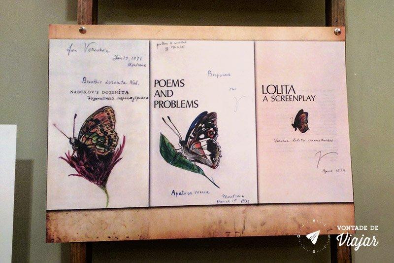 Sao Petersburgo - Casa museu Nabokov - Borboletas e Lolita