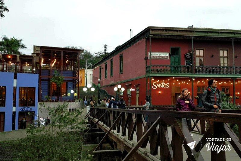 O que fazer em Barranco Lima - Ponte dos Suspiros
