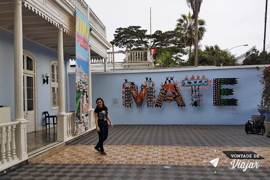MATE Museu Mario Testino em Barranco Lima Peru